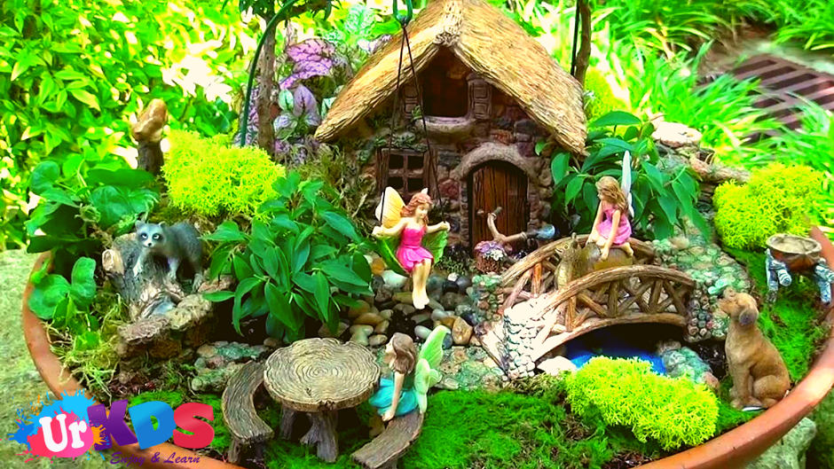 How To Make A Fairy Garden Your Kids